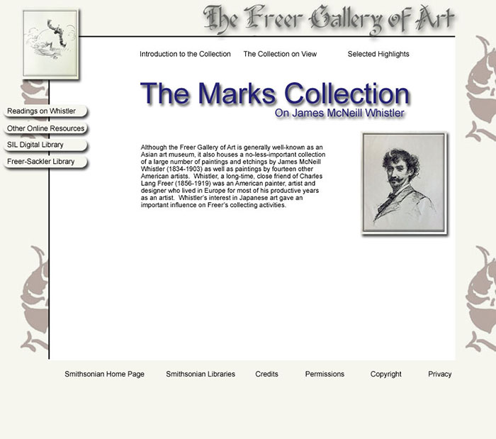 The Marks Collection of James MacNeil Whistler